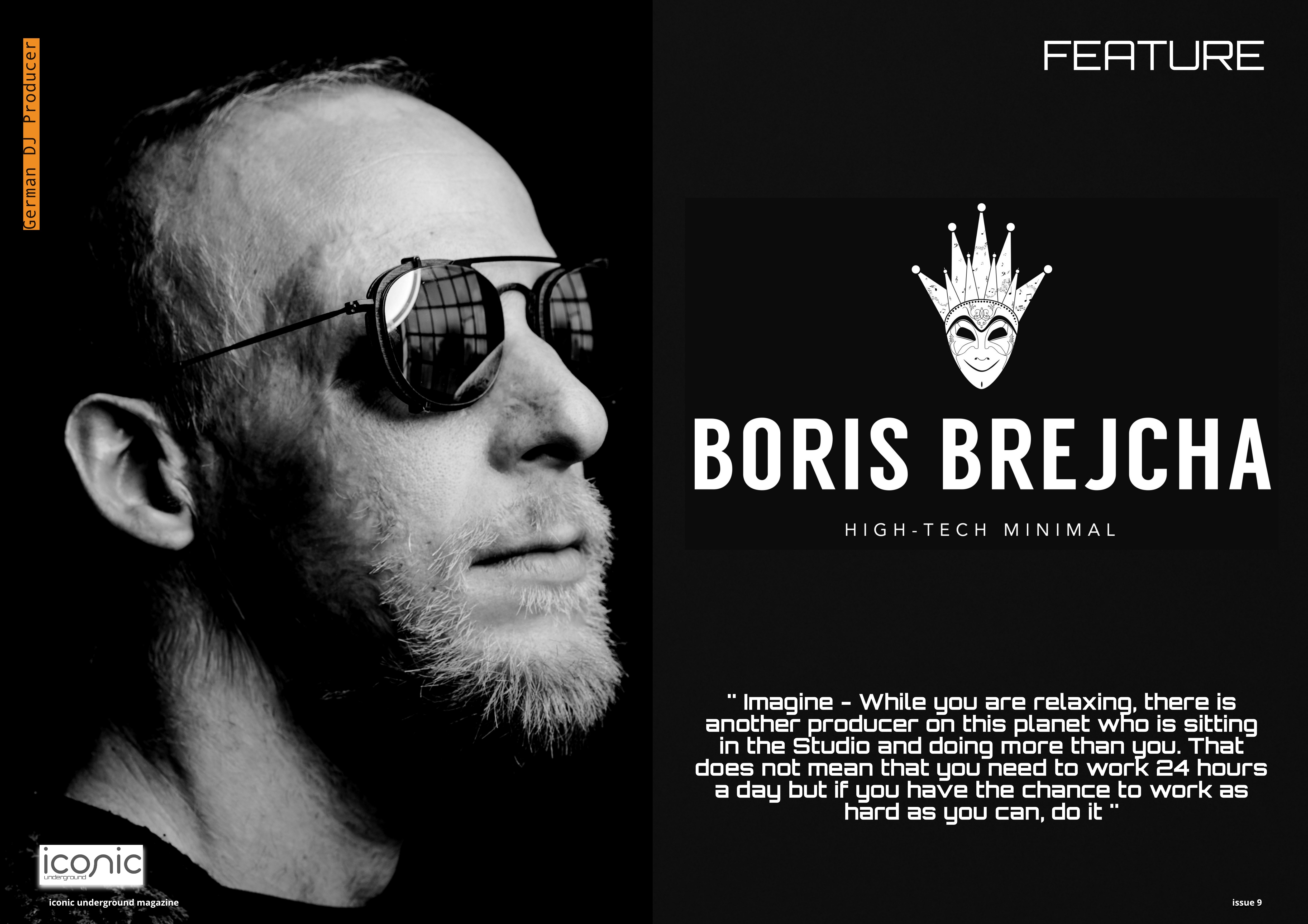 Boris Brejcha – Iconic Underground Magazine