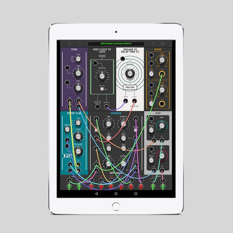INSIDE THE AIRA MODULAR CUSTOMIZER