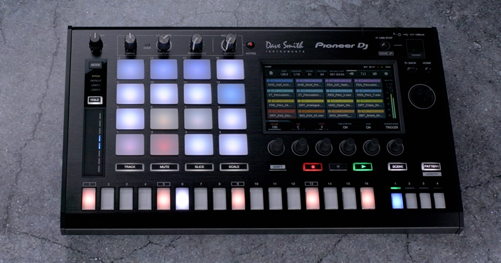 TORAIZ SP-16 sampler with Dave Smith analogue filters and Pro DJ Link