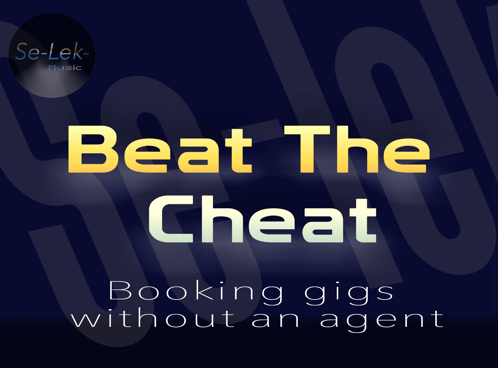 Beat the Cheats – Self Promote