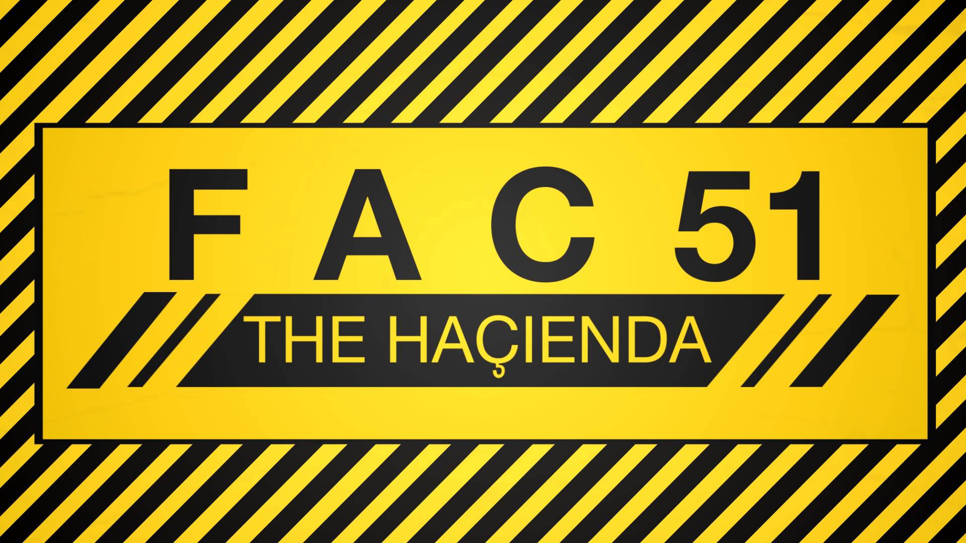 Iconic Sets from the Legendary Hacienda
