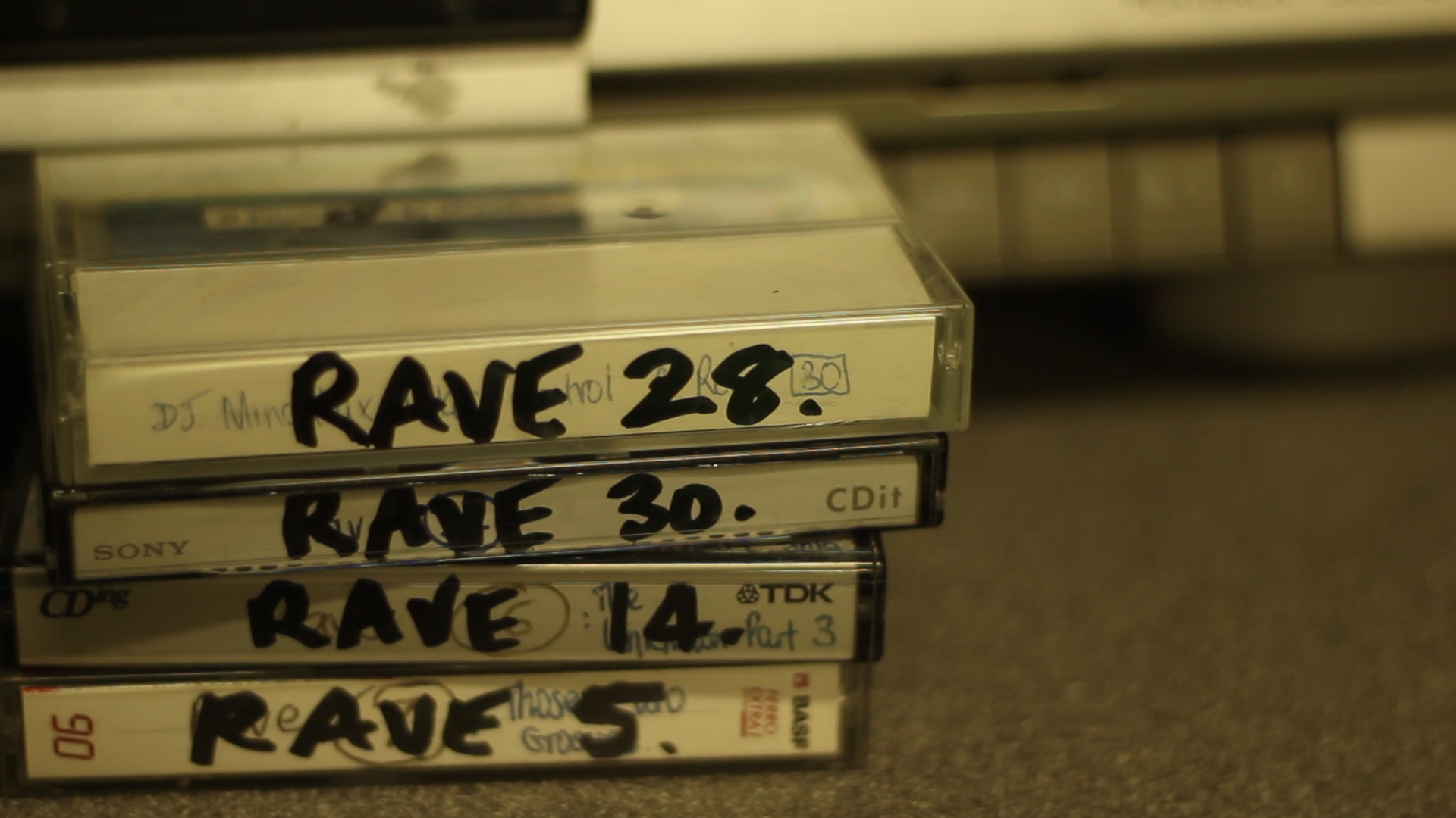 Notes on Rave In Dublin – Documentary