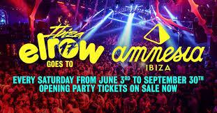 Iconic Underground Ibiza 2017 – elrow Amnesia