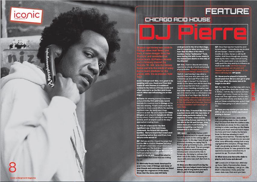 ACID HOUSE CREATOR DJ PIERRE TALKS TO IUM – EXCLUSIVE