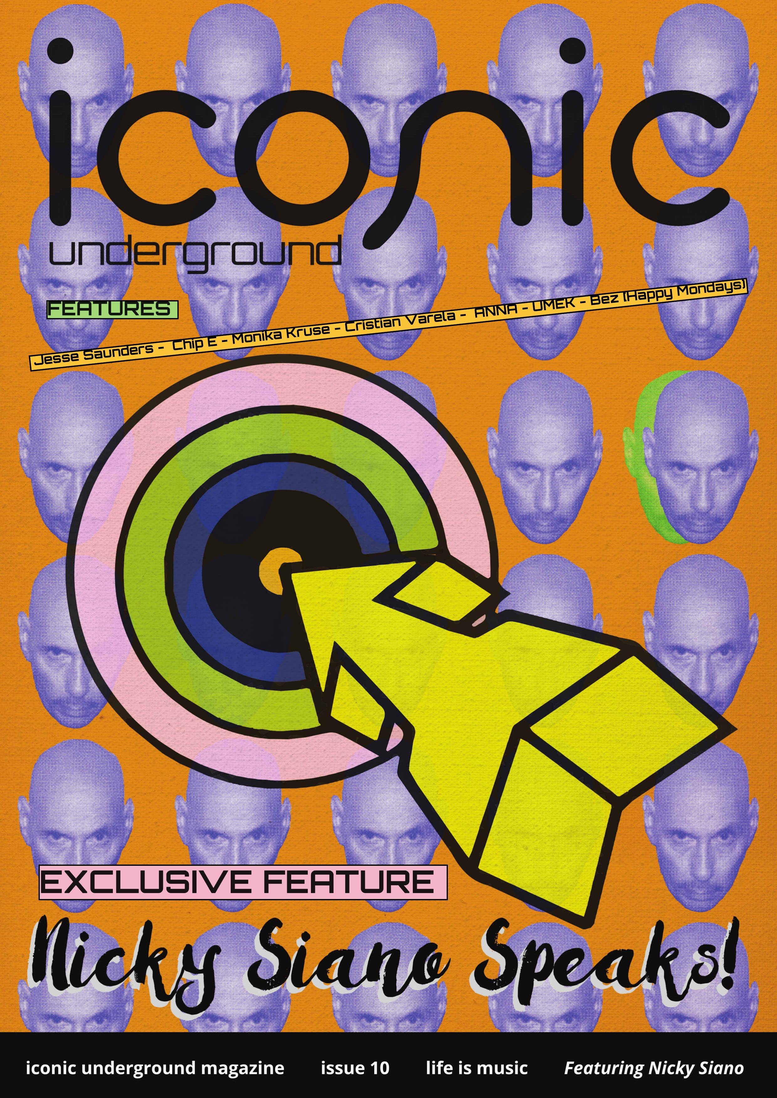 Issue 10 of Iconic Underground Magazine