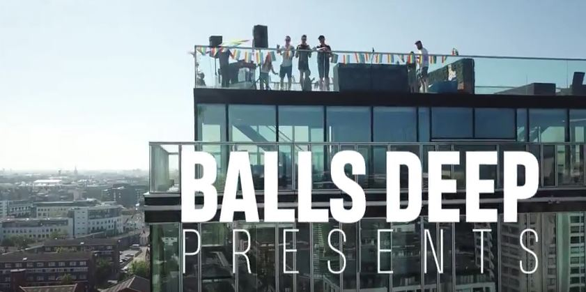 Balls Deep In The Mix Roof Top Party – Dublin