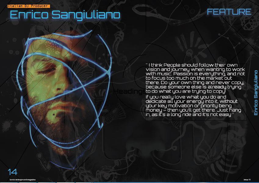 Enrico Sangiuliano – Exclusive Interview