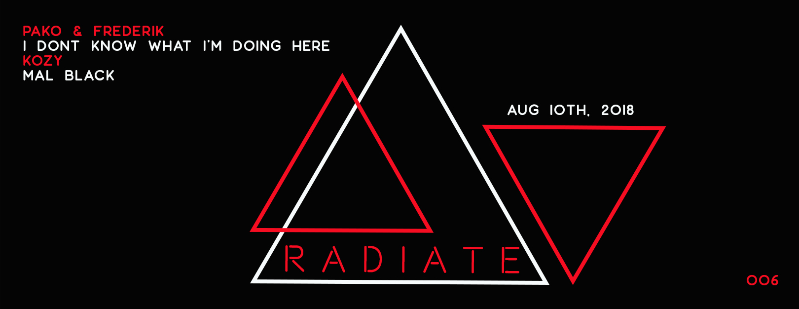 Iconic Review Exclusive – Pako & Frederik – 'I don't know what I'm doing here' EP  [Radiate]
