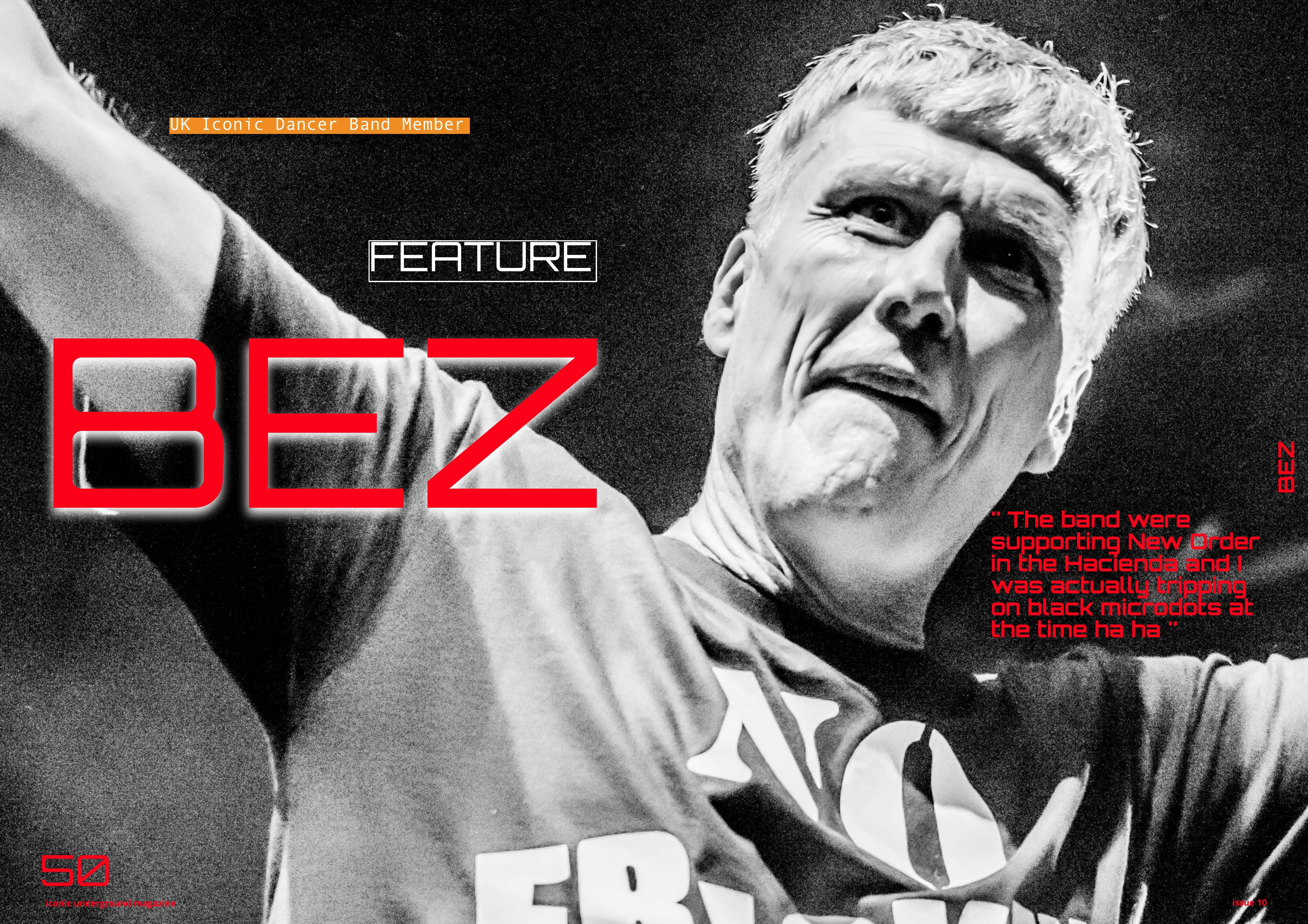 BEZ HAPPY MONDAYS – EXCLUSIVE INTERVIEW