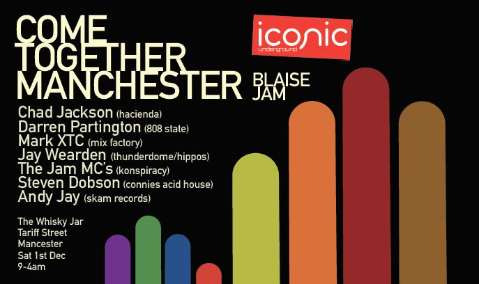 Come Together Manchester Event – Blaise Jam