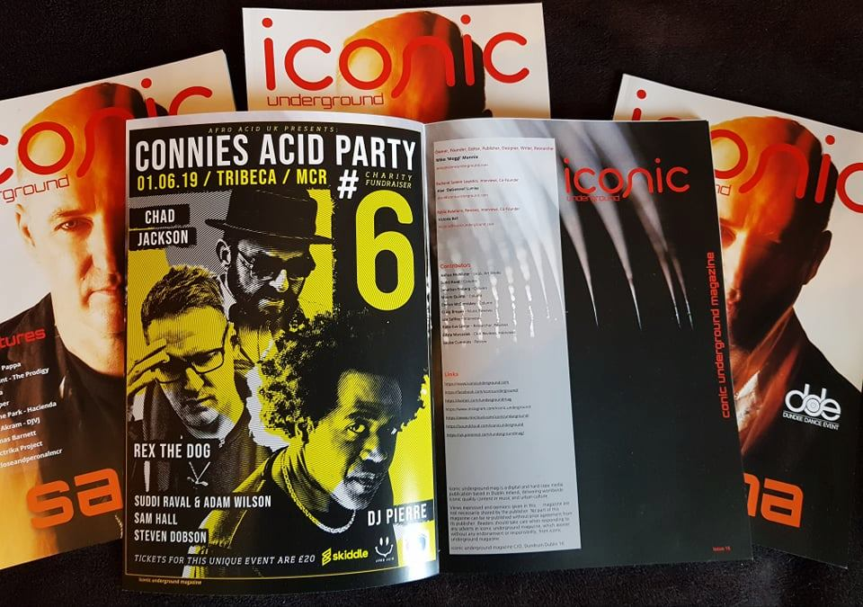 Connie's Acid House Party – Headlined By DJ PIERRE (Tiny Steps Charity Event)