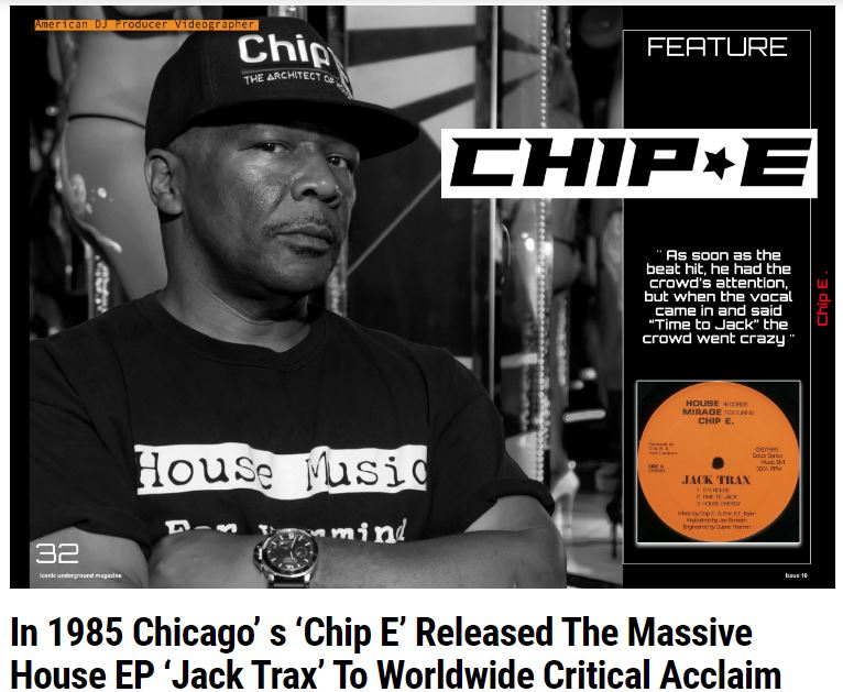 House Pioneer Chip E's 'Time to Jack' is 35 Years Old
