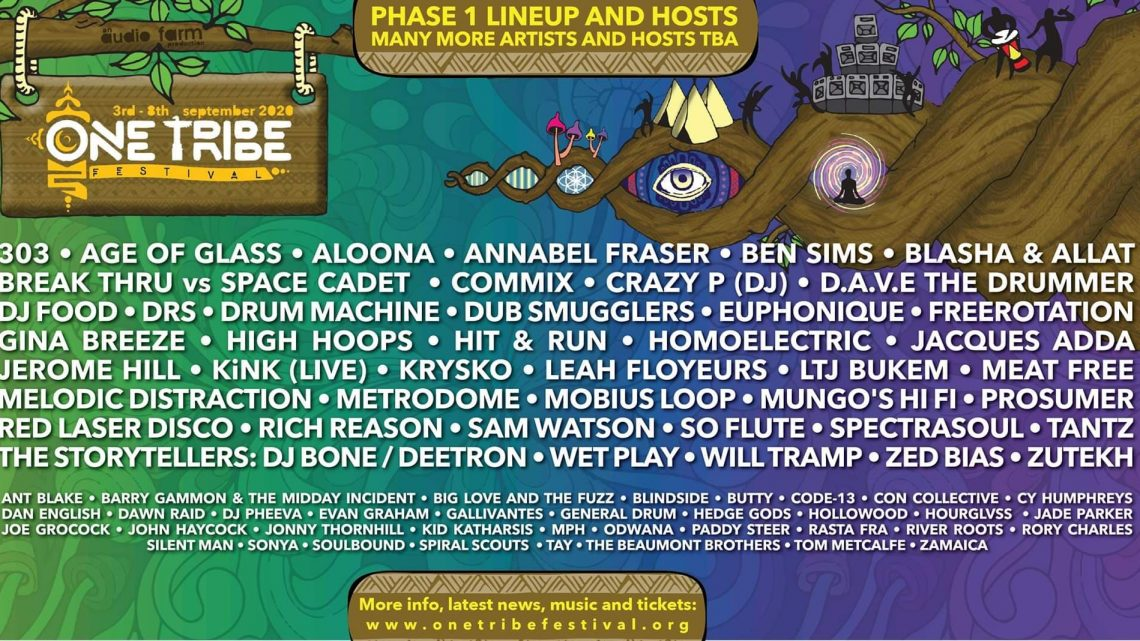 One Tribe Festival Presents: Audio Farm 2020 Phase One Line-Up Announced