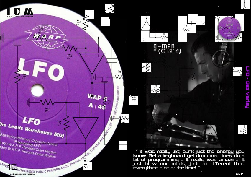 GEZ VARLEY – LFO EXCLUSIVE INTERVIEW