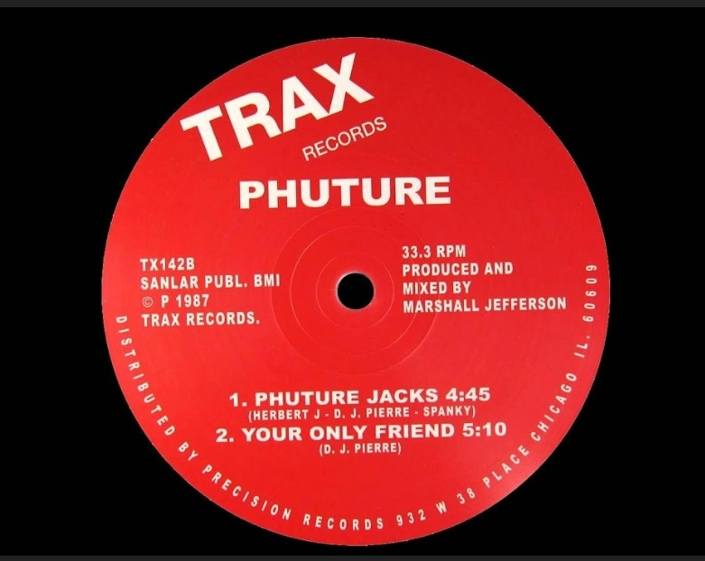 ACID TRACKS SOUNDS FROM THE PHUTURE